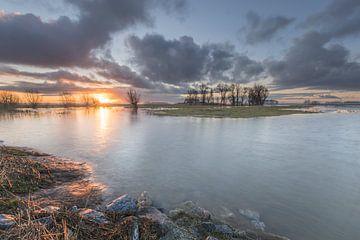 Verdronken landschap van Jan Koppelaar