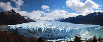 Panorama Perito Moreno gletsjer, Argentinië van A. Hendriks