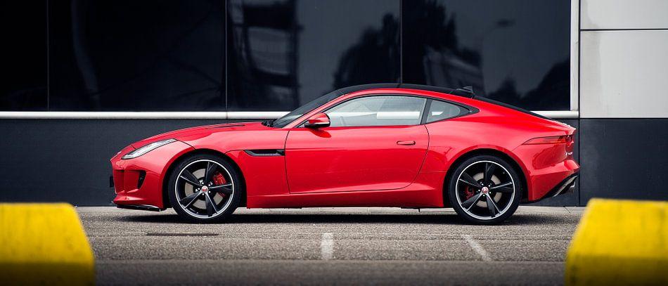 Rode jaguar F type coupe V6 s