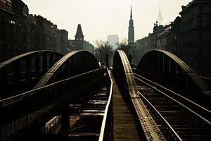 U-Bahn Eberswalder Straße van Maurice Moeliker