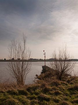 De Lek bij Schoonhoven van Rinke Velds