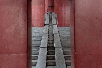 Futuristischer Treppenaufgang von David Heyer