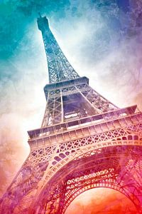 Modern-Art PARIS Eiffel Tower I