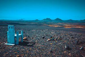 IJsland maanlandschap