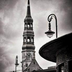Schwarzweiss-Fotografie: Hamburg – Sankt Katharinen von Alexander Voss