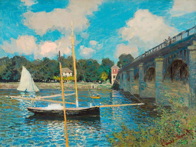 Die Brücke von Argenteuil, Claude Monet von Liszt Collection