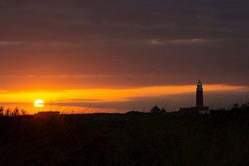 Sonnenuntergang auf Texel von Erik Spiekman