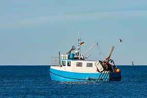 Fishing boat on the Baltic Sea