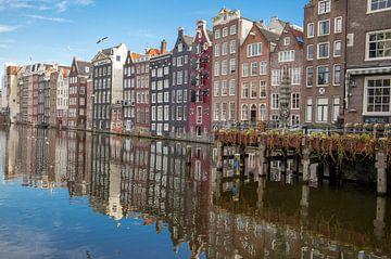 Amsterdam reflectie van Emrah Senel