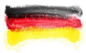 Symbolische nationale vlag van Duitsland van Achim Prill