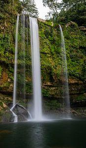 Misol Há waterval, Palenque, Mexico van Wilco Speksnijder