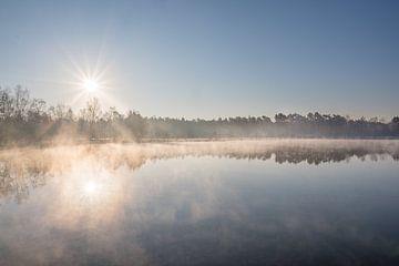 Gelassener Sonnenaufgang auf der Tevernerheide von John van de Gazelle