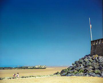 Omaha Beach, Frankrijk van Ruurd Dankloff
