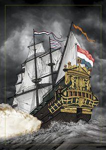 VOC Schip De Zeven Provinciën van Willem Heemskerk