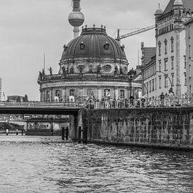 Zwart wit Berlijn van Rijk van de Kaa