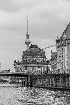 Schwarz-Weiß Berlin von Rijk van de Kaa