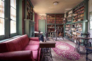 verlaten bibliotheek van Kristof Ven