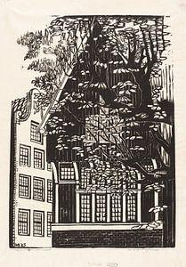 Amsterdam, Begijnhof, Meijer Bleekrode, 1925