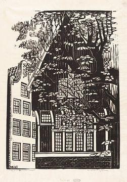 Amsterdam, Begijnhof, Meijer Bleekrode, 1925 van Atelier Liesjes