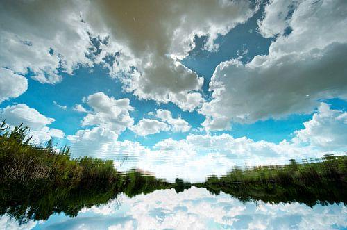 reflectie Nieuwkoopse plassen van