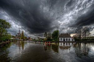 Roeien voor de storm / Veerhuis / Overschie / Rotterdam