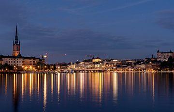 Night at Stockholm van Henry van Schijndel