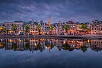 Spaarne Haarlem sur Dick van Duijn