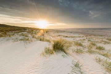Vlieland zonsondergang van Bart Harmsen