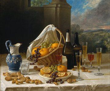 Lunch stilleven, John F. Francis van Meesterlijcke Meesters