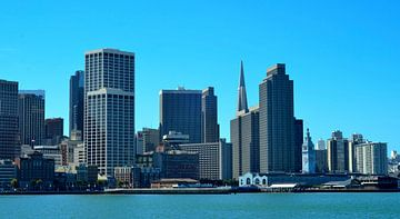 Skyline van San Francisco, Amerika van Maurits Simons
