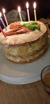 Verjaardagstaart van Gulcan Aktas
