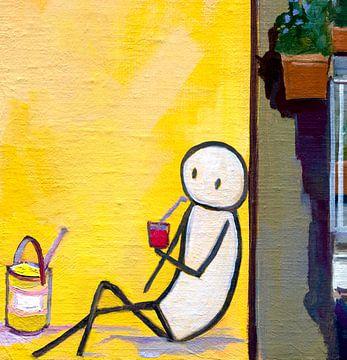 Napels geel detail van jan weber