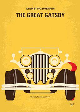 No206 My The Great Gatsby minimal movie poster van Chungkong Art