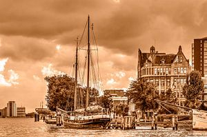 Veerhaven en Westerkade van