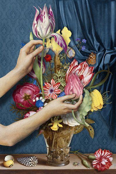 Het Bloemenarrangement sur Marja van den Hurk