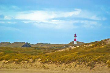Sylt: de punt van het eiland = de elleboog van Norbert Sülzner