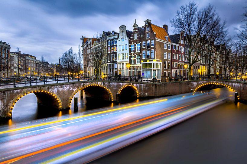Amsterdam lights van Roy Poots