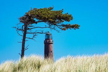 Lighthouse on the Baltic Sea coast sur