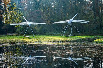 Libellenkunst von Jose Gieskes