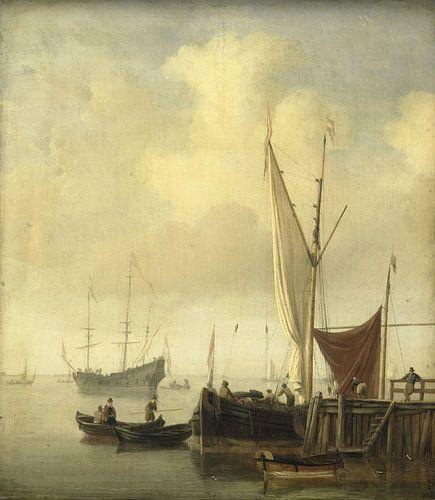 Havengezicht, Willem van de Velde (II) van Meesterlijcke Meesters