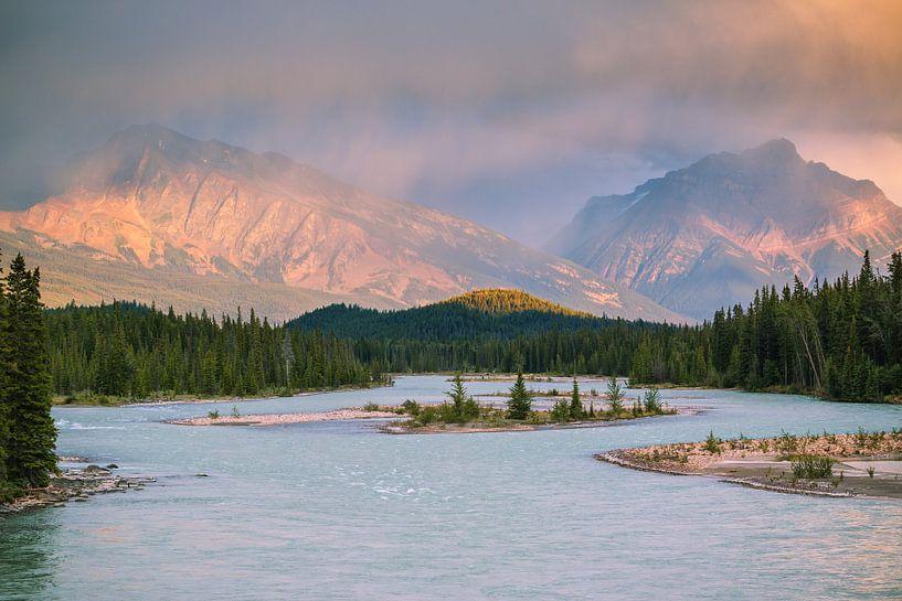 Icefields parkway Canada van Ilya Korzelius