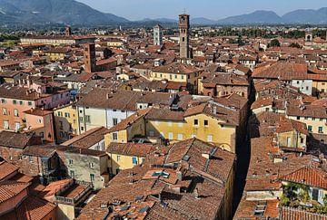 Lucca in Italië van Jan Kranendonk