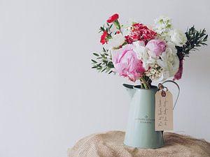 Stilleven van bloemen
