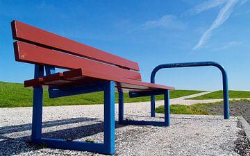 Ruheplatz auf dem West-Friesischen Insel Terschelling von Hans van der Weide