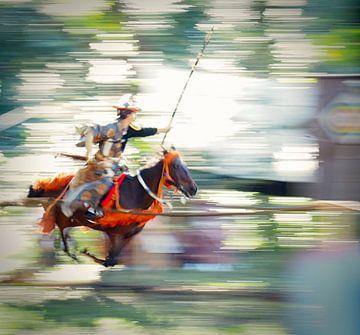 Boogschutter te paard van Jasper H