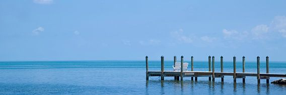 FLORIDA KEYS Quiet Place | panoramic view van Melanie Viola