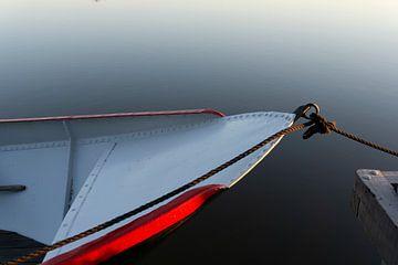 Boot an Land von Frits de Wolf