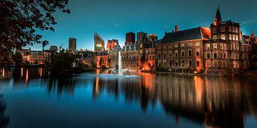 De hofvijver in Den Haag von Roy Poots