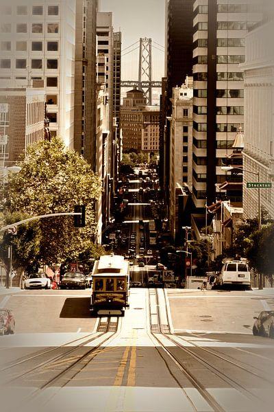 California Street SAN FRANCISCO van Melanie Viola