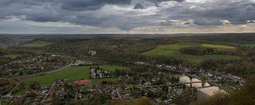 Panorama Meuse-Tal, Profondeville von Manuel Declerck